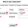 Multi-Race Bet Ticket Builder